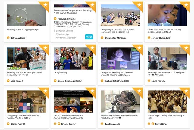 Video Showcase Highlights STEM Research Projects